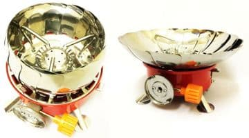 WINDPROOF MINI CAMPING GAS STOVE COOKER picnic West Midlands based UK supplier